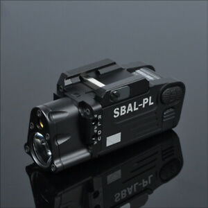 Tactical-SBAL-PL-Weapon-Light-Combo-Red-Laser-Strobe-Flashlight