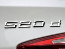BMW NEW GENUINE F10 F11 5 SERIES 520d TRUNK BADGE EMBLEM LOGO 7219542