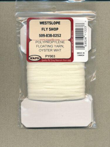 Polypropylene Floating Yarn oyster white     PY003