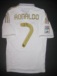 c84a19328af 2011 2012 Adidas Real Madrid Cristiano Ronaldo Jersey Shirt Kit Home ...