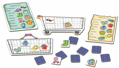 Shopping List Extras Clothes by Orchard Toys 3 ~ 7