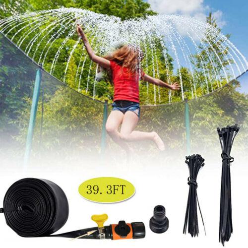 Outdoor Wasserspaß Sprinkler für Kinder Sommer Trampolin Wasserpark für Kinder