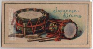 Japanese-Drums-O-daiko-Uta-daiko-O-tsuzumi-Vintage-Ad-Trade-Card