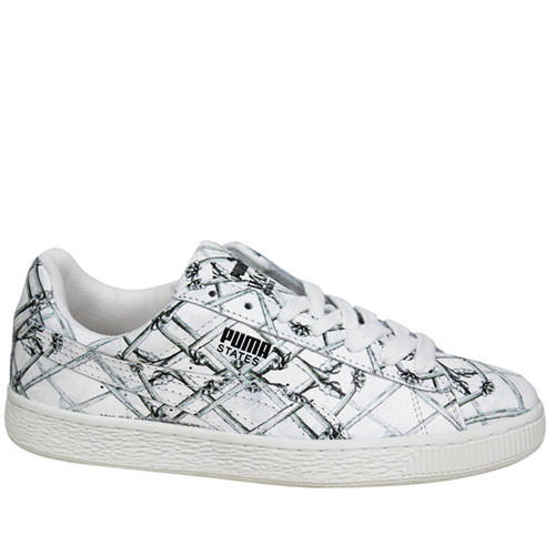 Puma States X Swash London Bones Lace Up Mens Trainers 360710 01 U104 Wild casual shoes