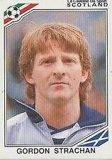 N°339 GORDON STRACHAN # SCOTLAND ECOSSE WORLD CUP MEXICO 1986 STICKER PANINI