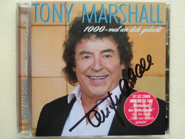 Tony Marshall - 1000-mal an dich gedacht - Handsigniert - CD Neuwertig