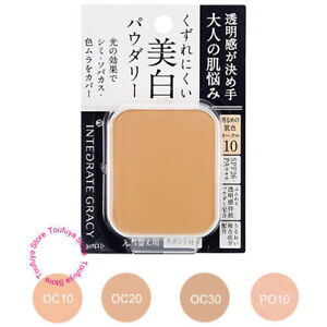 Image Is Loading Refill Shiseido Integrate Gracy Foundation White Pact Sheer