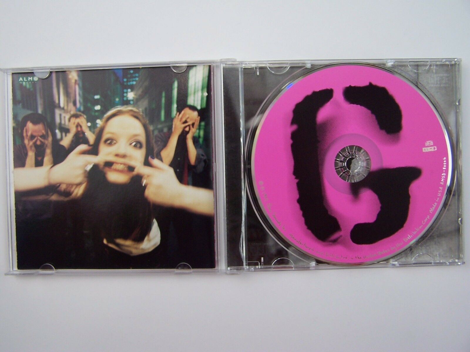 Garbage - Garbage Self-Titled Signed by Band ~ RARE!