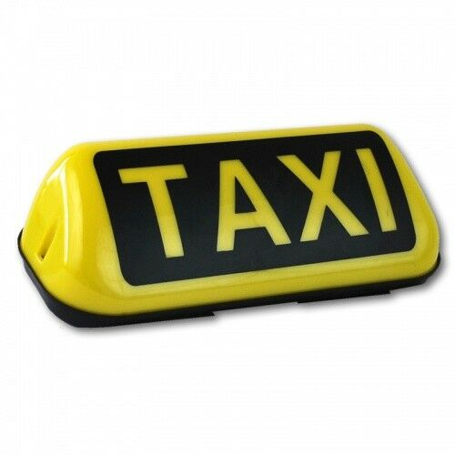 Taxischild 2 positions Magnétique DEL