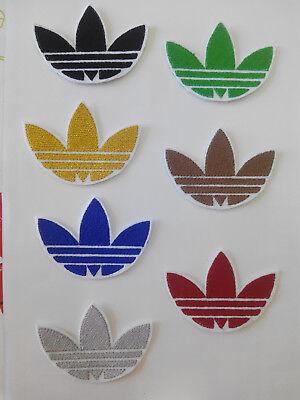 2 Parches bordados para Pegar 5,5//5,5 cm y 7,8// 4 cm adorno ropa