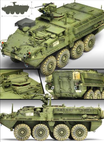 Academy 13284 1//35 AFV CLUB US Army M1126 STRYKER kor
