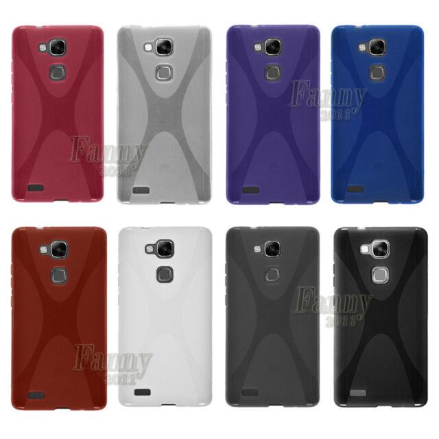 Soft Gel TPU Case Cover Skin For Huawei Ascend Mate7