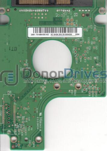 WD SATA 2.5 PCB 2061-701499-E00 AD WD2500BEVT-22ZCT0