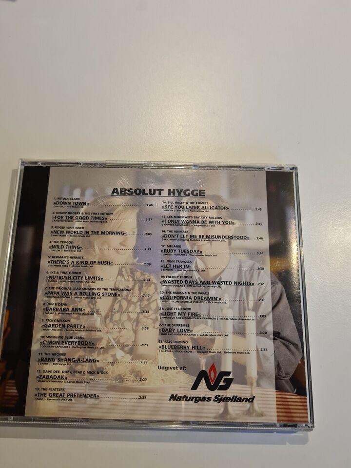 Various / Diverse: CD : Absolut Hygge, pop