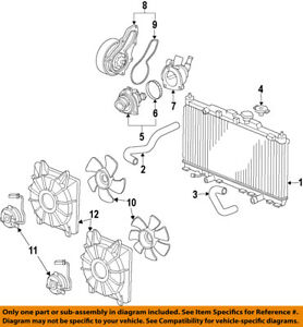Acura Tsx Cooling System Diagram Block And Schematic Diagrams - Acura tsx radiator