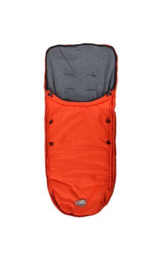 Neu Orange TFK Fußsack universal für alle TFK Wagen Fb