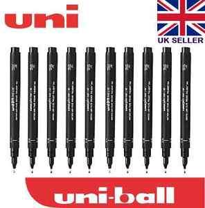 10 x uni pin drawing pen fineliner ultra fine line marker in black image is loading 10 x uni pin drawing pen fineliner ultra stopboris Gallery