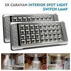 2x 12V 36 LED Interior Ceiling Cabin Spot Light For Caravan Camper Boat Light UK
