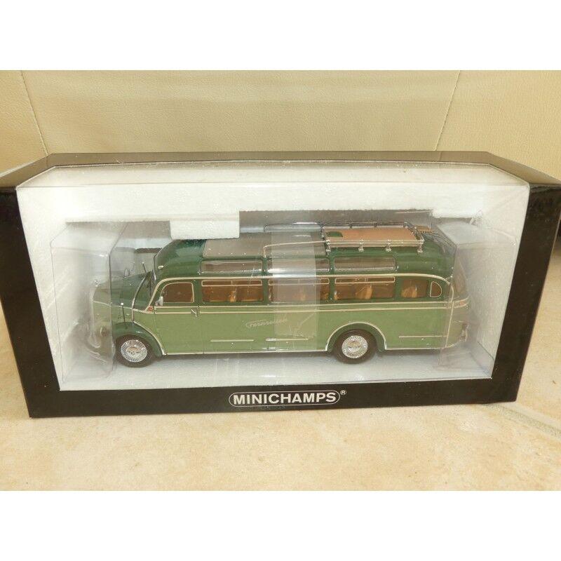 Mercedes  O 3500 Bus Remote voyage Minichamps 1 43  plus vendu