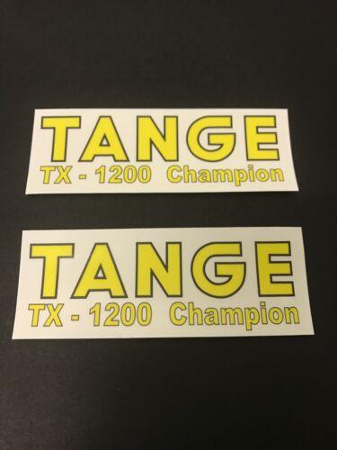 1200 Champion Fork STICKERS Decals Old School Bmx Tange TX