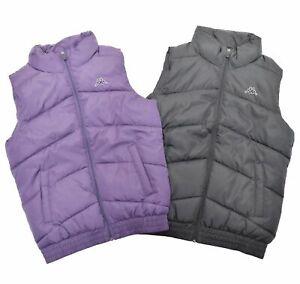 Kappa-Steppweste-Damen-aermellos-Reissverschluss-Polyester-Weste-Taschen-Slim-fit