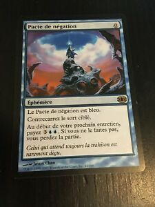 MTG-MAGIC-FUTURE-SIGHT-PACT-OF-NEGATION-FRENCH-PACTE-DE-NEGATION-NM