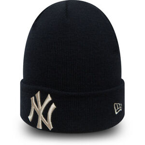 NEW-ERA-New-York-Yankees-Bonnet-New-MLB-League-pour-Homme-Femme-Bleu-Marine-Chapeau-8-W-0