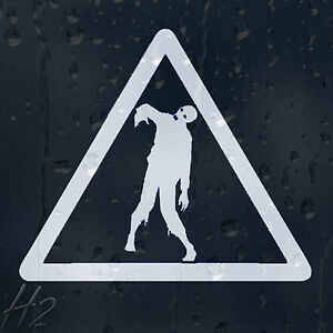 Zombie-Outbreak-Response-Team-Triangle-Sign-Car-Decal-Vinyl-Sticker-For-Window