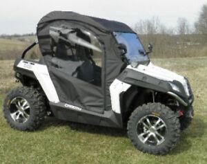 FULL-CAB-Enclosure-w-Clear-Lexan-Windshield-CF-Moto-Z5-Z8-EX-New-UTV