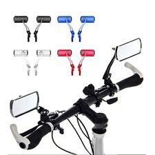 1X Cycling Bike Bicycle Handlebar Flexible Rear View Rearview Mirror Safety  ZPH