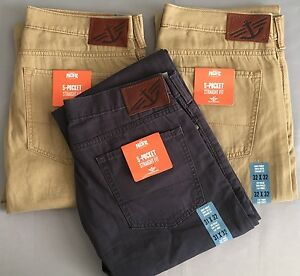 Jeans Front Pants Flat d2 5 Fit Genuine Straight Dockers Pocket W7q6g8wnZp