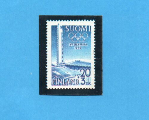 Rec OLYMPIA 1896-1972-PANINI-Figurina n.33-B  Riproduzione francobollo