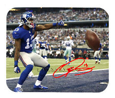 Item#2554 Odell Beckham - Spin New York Giants Facsimile Autographed Mouse Pad