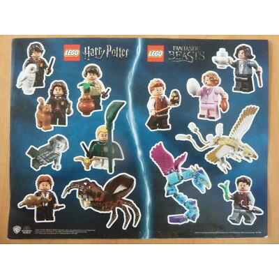 Lego Harry Potter  Fantastic Beasts - Stickerbogen (Neu)