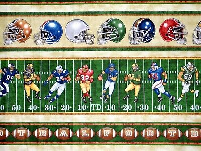 Gridiron by Quilting Treasures American Football all-over Print
