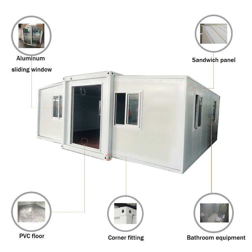 Details about Mobile Expandable Container House with Utilities and on building over a house, building a manufactured home, adding garage to mobile home, building over garage, building on to existing home, building additions on mobile homes,