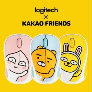 Kakao-Friends-Logitech-Wireless-Mouse-M238-with-Receiver