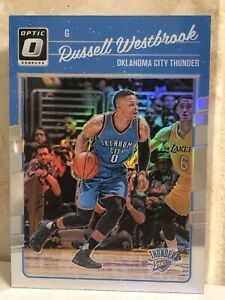 2016-17-Donruss-Optic-Silver-Holo-Prizm-Refractor-145-Russell-Westbrook-MINT