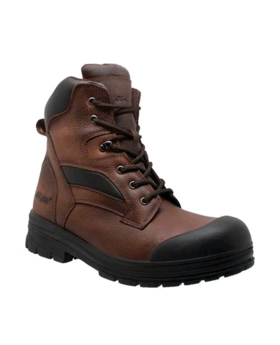 AdTec Men's   9679 12  M Composite Toe Waterproof Work Boot Brown Full Grain