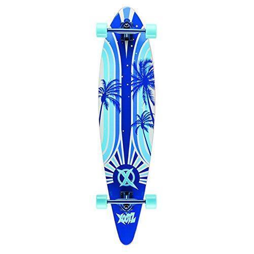 "Xootz Island Ragazzi Completo Longboard Blu Bianco 40/"" WB-TY5763"