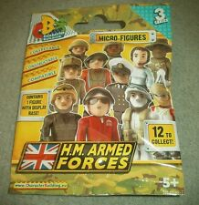 HM Armed Forces Character Building Series 3 Micro Figures with Display Base