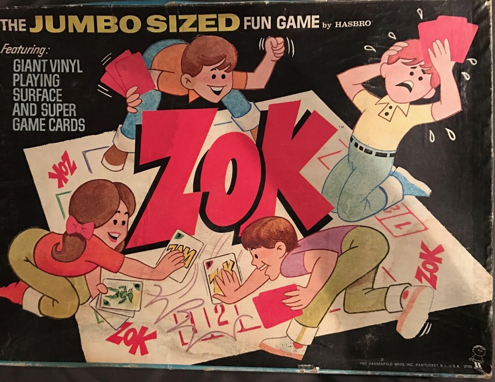 VINTAGE 1966 Hasbro ZOK Super hero jumbo Dimensioned board game MIB. Marvelmania era