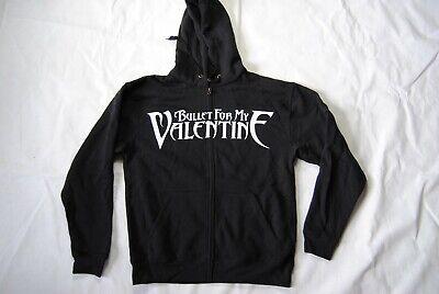 Bullet For My Valentine Logo Zip Hoodie Hooded Sweatshirt New Official Bfmv Ebay