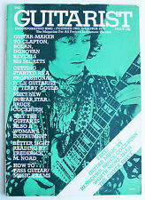1973 THE GUITARIST BMG Oct Tony Zemaitis Terry Gould John Renbourn sheet music