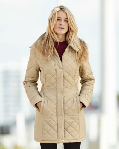 Womens Diamond Quilted Jacket JD Williams