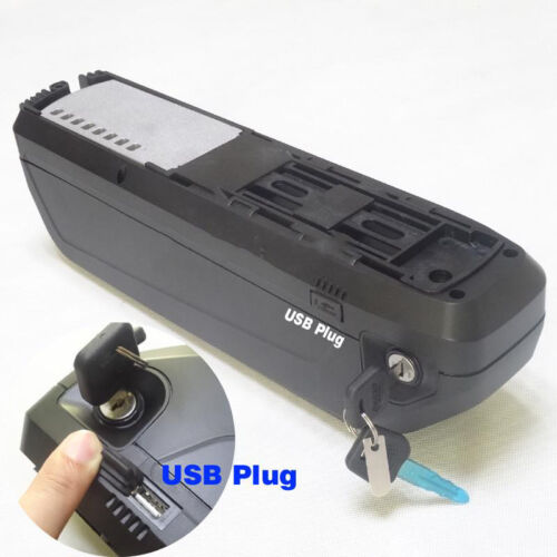 36V 48V Electric Bicycle Battery Box Case 5V USB HaiLong E-bike Holder For 18650 Elektrofahrräder