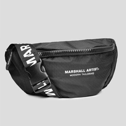Marshall Artist Ballistic Crossbody Bag Black