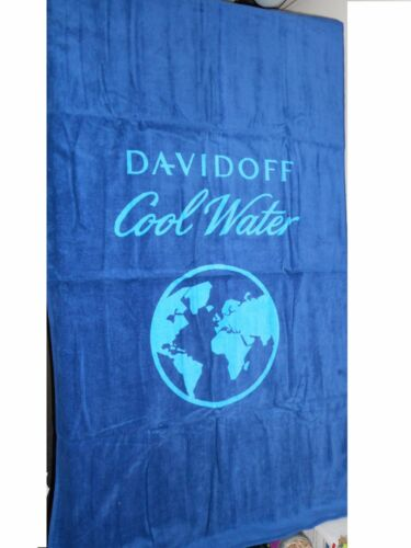 "DAVIDOFF COOL WATER LOVE THE OCEAN BEACH TOWEL 56/""x32/"" NEW IN PACKAGE"