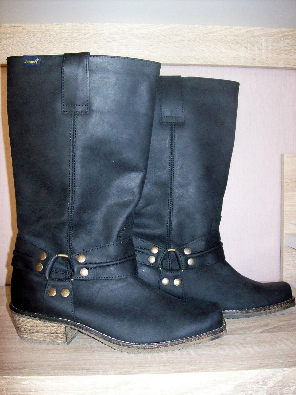 Jonny's sehr schöne schwarze Stiefel Neu NP: