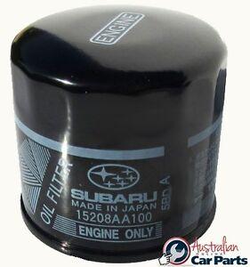 Subaru genuine oil filter liberty outback impreza forester for Subaru forester motor oil